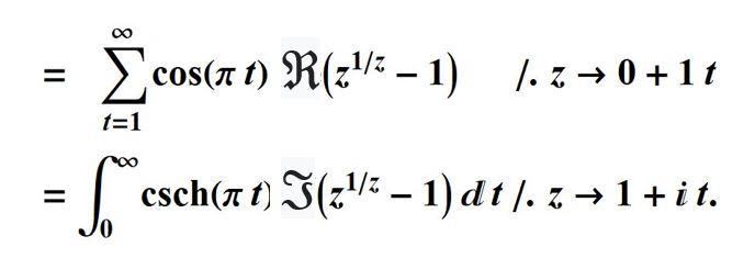 eta equals
