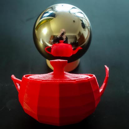 teapot reflection