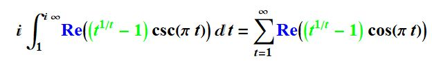 integral to sum