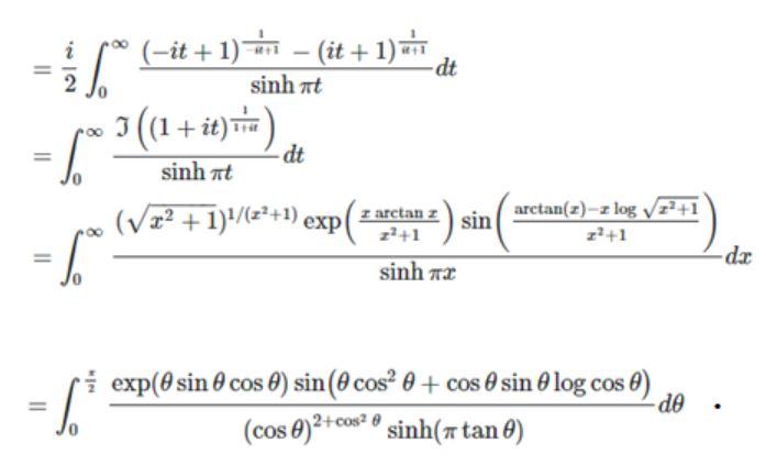 MRB integrals