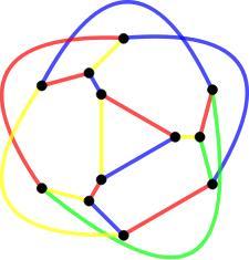 3 vertex flower snark