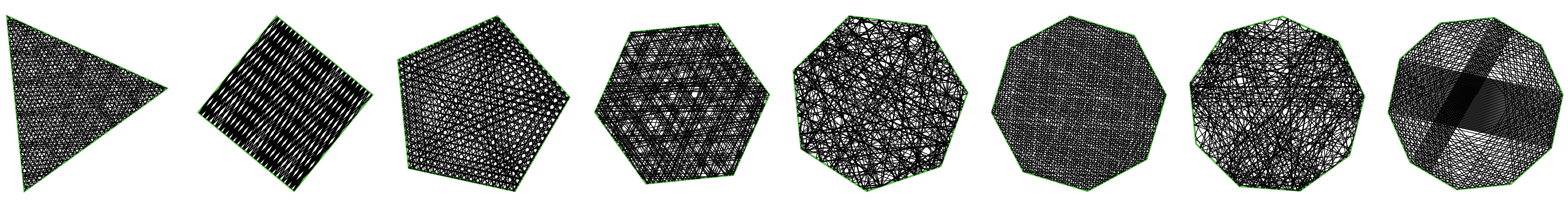 Billiard Polygon Array