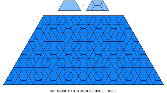 half hex tiling