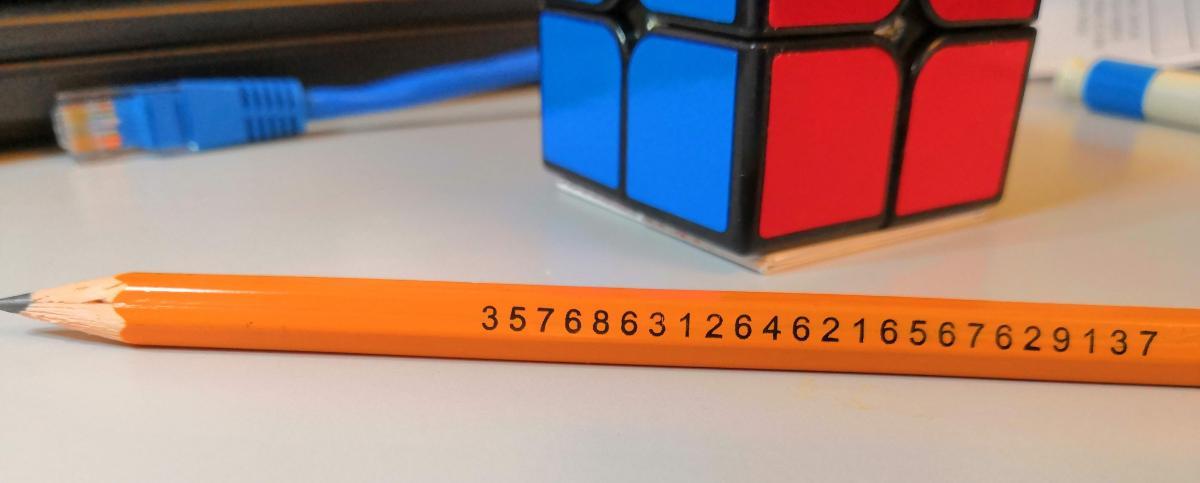 a very prime pencil