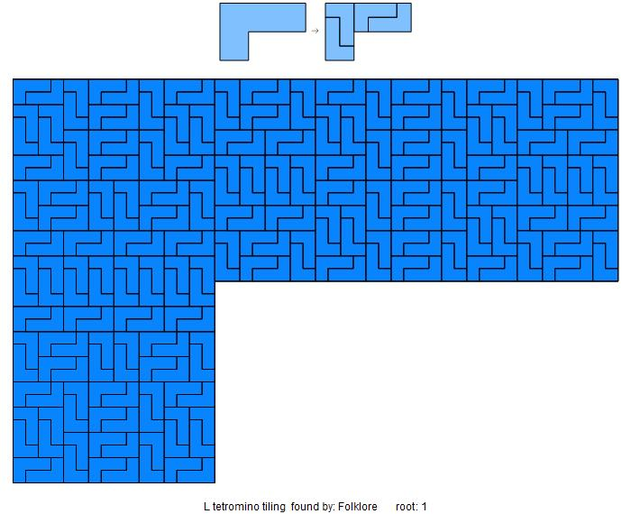 l tromino tiling