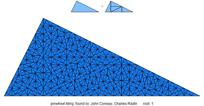 Pinwheel tiling