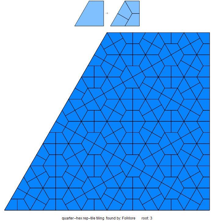 quarterhex tiling