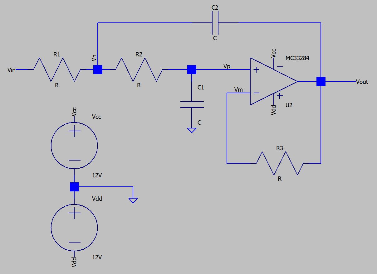 Sallen-Key circuit