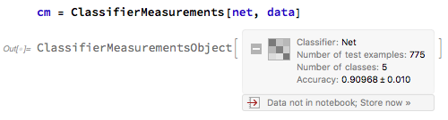 classifier measurement object