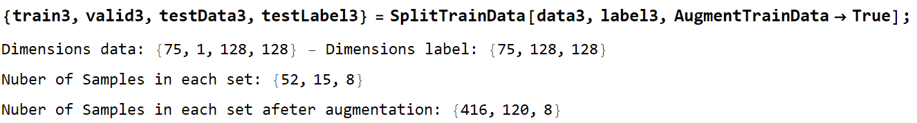 split train Data