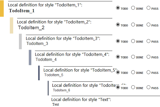 TODO - md - stylesheet