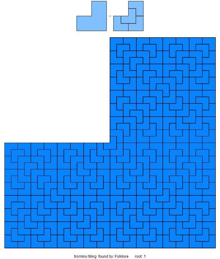 tromino tiling