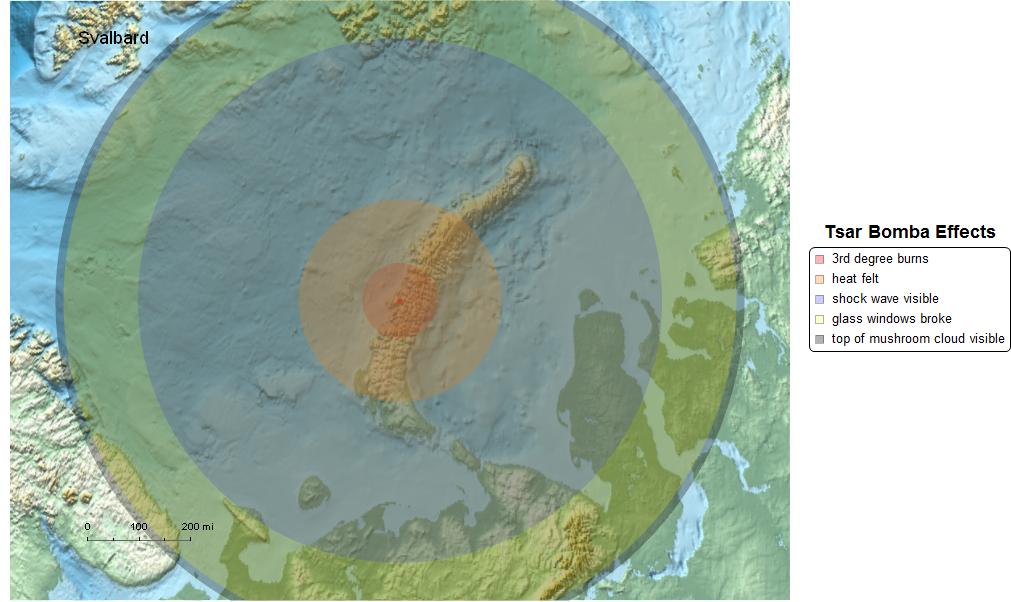 Closeup of the Tsar Bomba detonation location