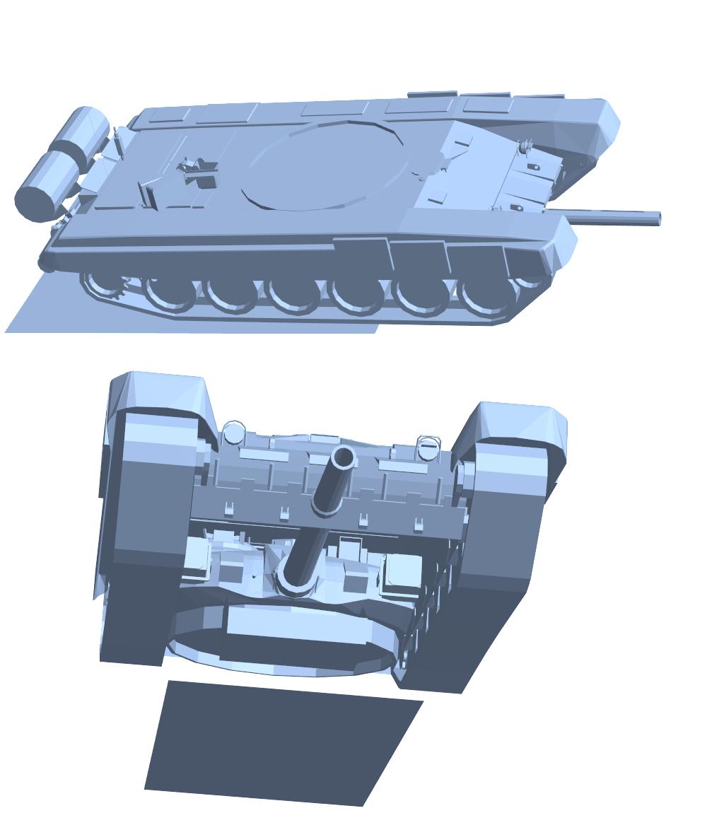 T-90 model from CadNav.com