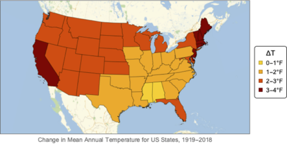 US Climate Change