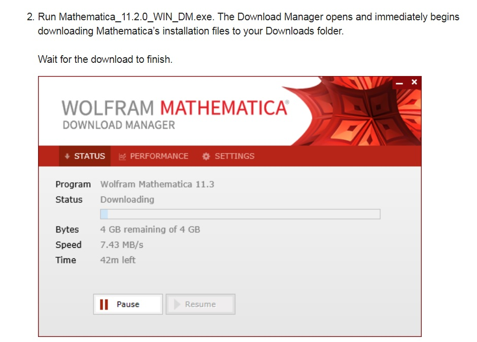 Mathematica download manager do not start on windows 7, home