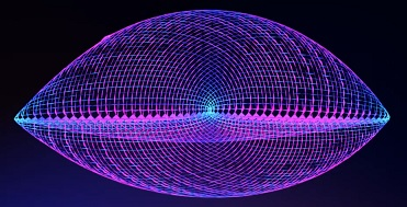 Wolfram Universe Model 44586 5000 generation