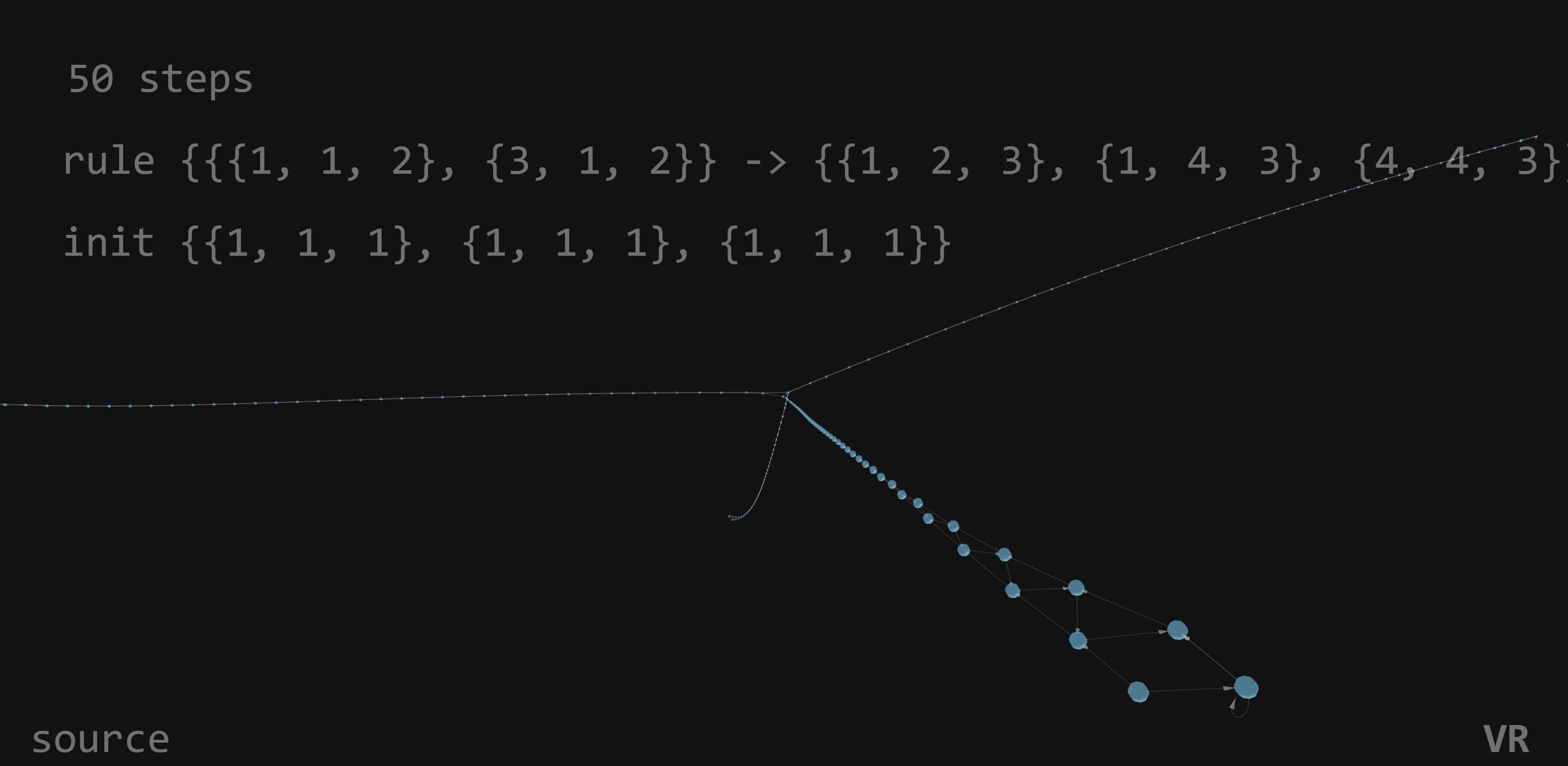 Four spikes 3D 50 steps