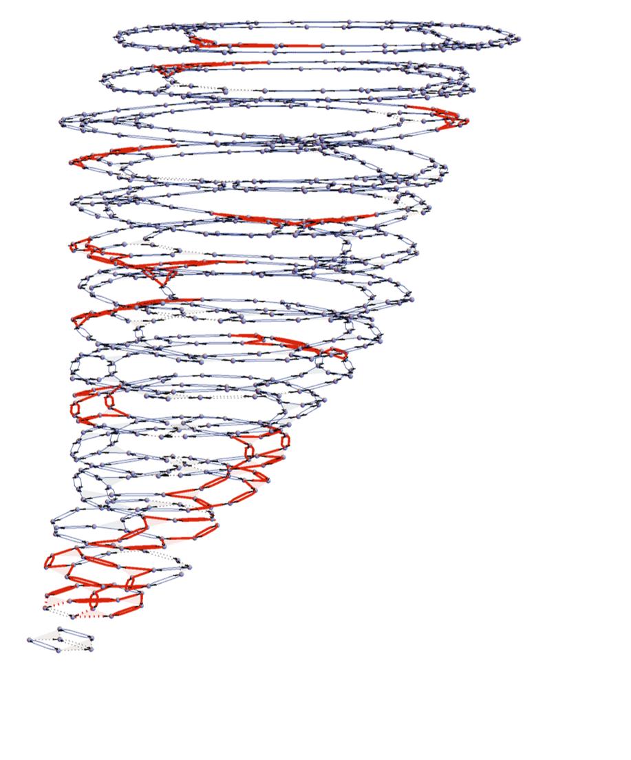 3D Plot of a Wolfram Model Evolution