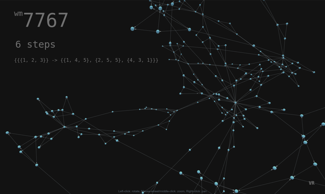 Wolfram Model Explorer