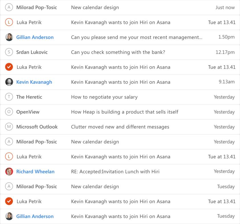 Example traditional inbox (https://en.wikipedia.org/wiki/File:Hiri<em>inboxscreenshot.png)