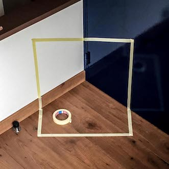 taped trihedron