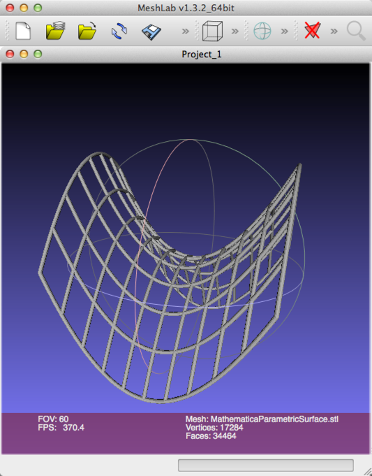Creating a 3d mesh plot and exporting it to an stl file for 3d plot online