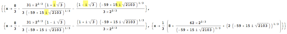 how to solve 3rd degree polynomial