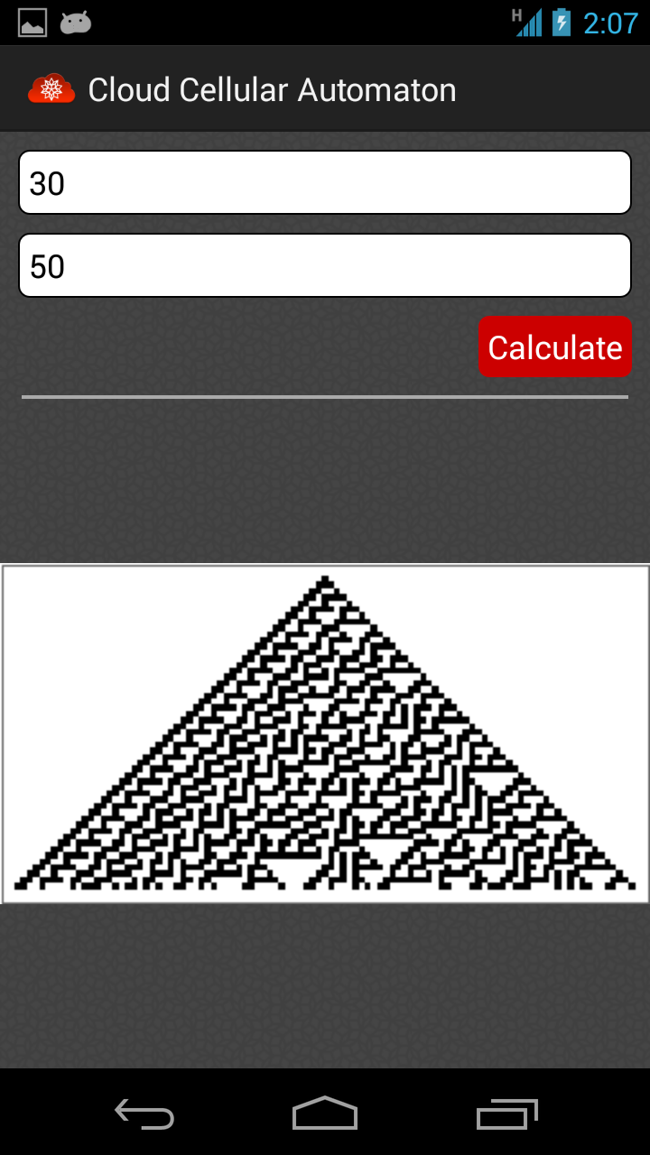 Cellular Automaton Screenshot