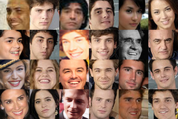 Find Famous Faces collage