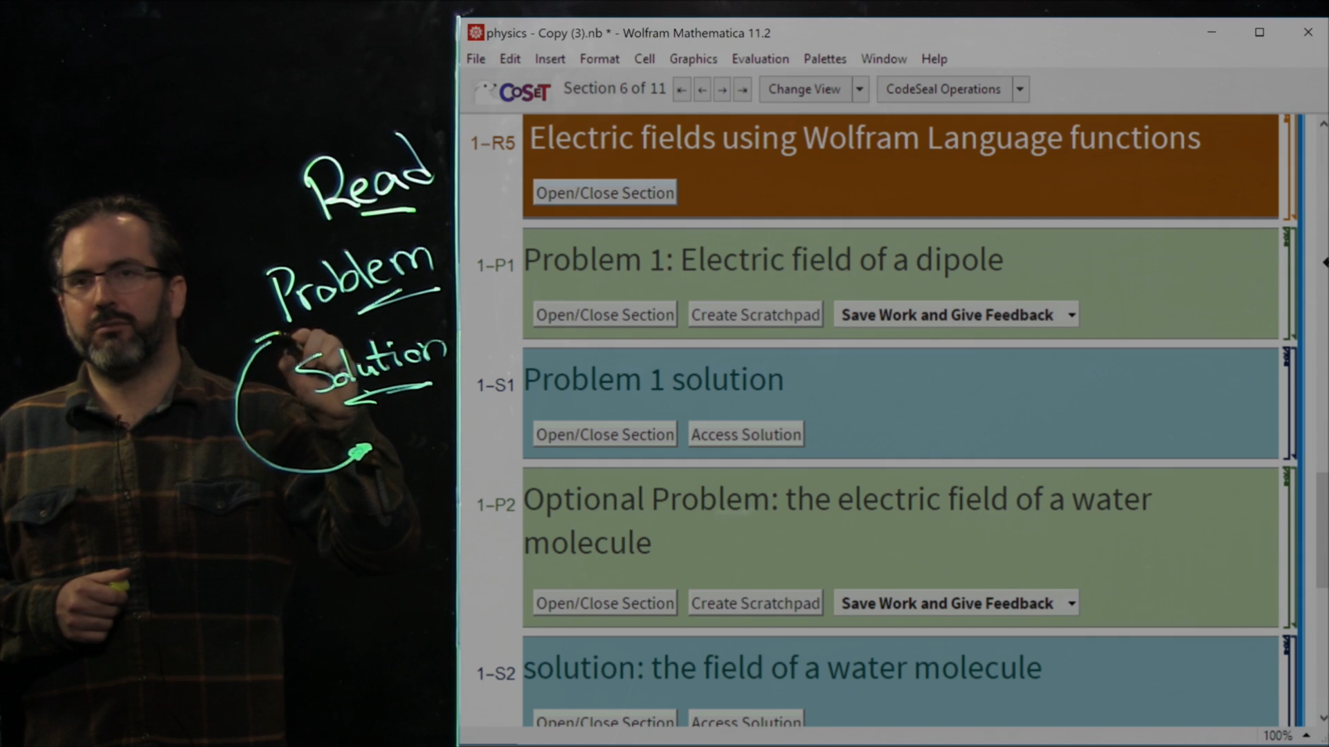 screen shot of video lecture showing Kyle Keane and CodeSeal