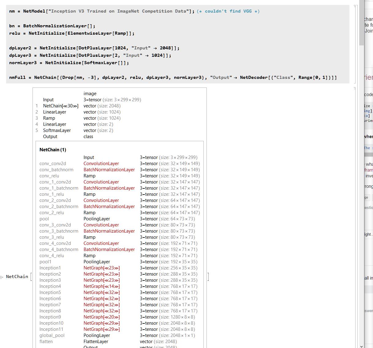 Using NetModel to