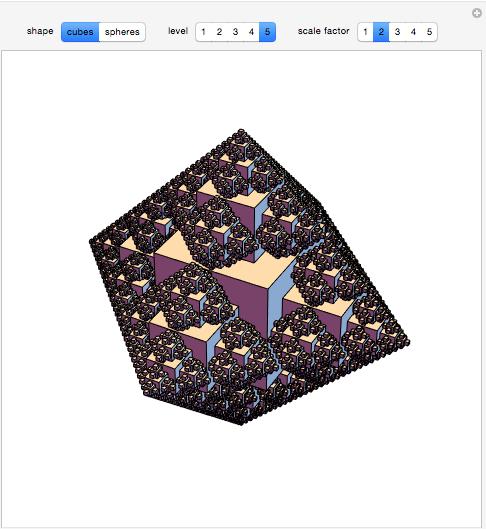 3D Snowflake Fractals