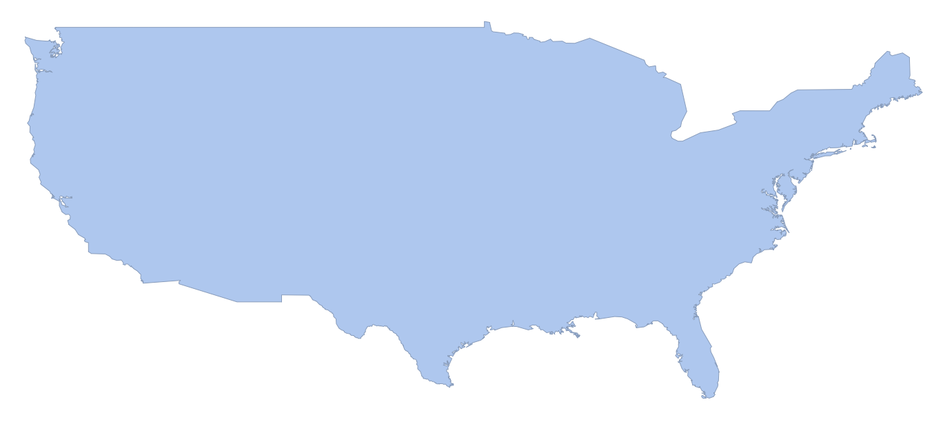 conterminous US region