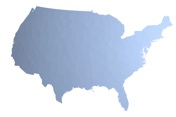 the conterminous US in 3D