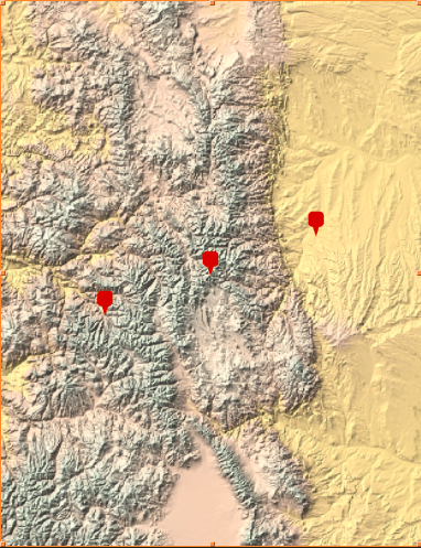 In this example, c1 represents Denver, CO and c2 represents Aspen, CO