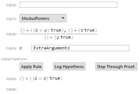 the user interface for interactive theorem proving