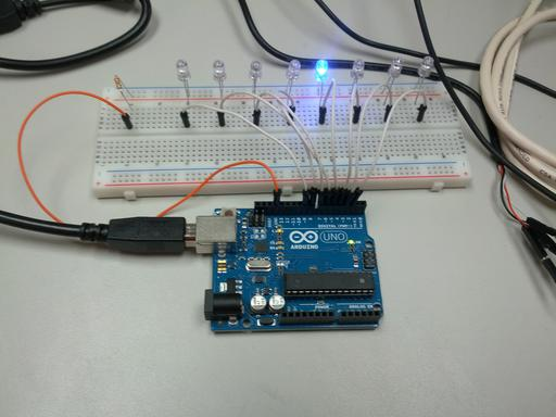 Communicating with an arduino uno over a serial connection