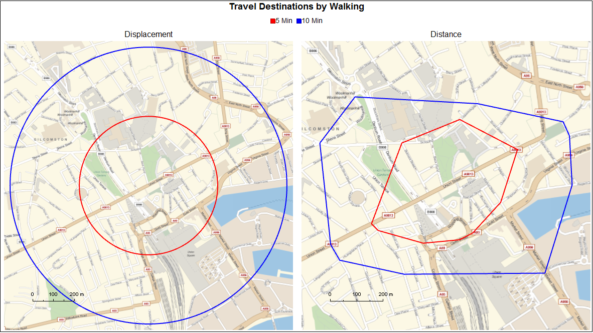 Routing OSM Data: How Far Can I Walk in 5 Minutes? - Online ... on