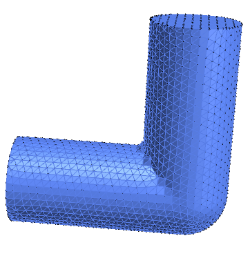 Pipe Mesh generated within Mathematica