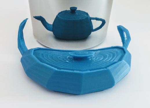 teapot printed