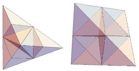 tetrahedron reptiles